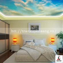 Mẫu trần phòng ngủ xuyên sáng bầu trời số 1
