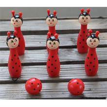 Bộ Bowling đồ chơi bằng gỗ YX0027