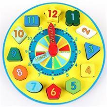 Đồ chơi gỗ giáo dục dạng đồng hồ số AWS0018