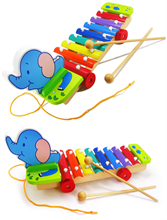 Đồ chơi gỗ dạng đàn kéo xe AYX0014