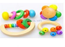 Đồ chơi gỗ xắc vòng DG1-013