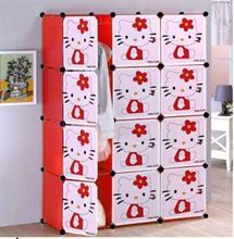 Tủ nhựa ghép đa năng thông minh 4 tầng 10 ngăn - TN0060