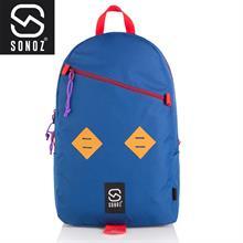 Ba lô thời trang Sonoz Le Double Losange BLEUROUGE0615