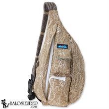 Túi Đeo Chéo Kavu Rope Sling Pack Màu Nâu Họa Tiết