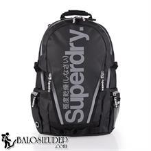 Balo Thời Trang Superdry Classic Tarpaulin màu đen xám