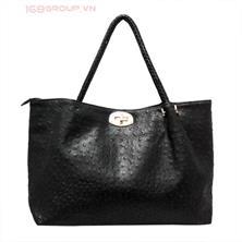 Túi xách nữ thời trang Vân Đà Điểu sang trọng - HT334(Màu đen)