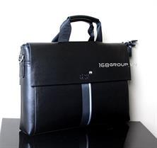 Túi xách nam thời trang da thật MONT BLANC - Mẫu 1