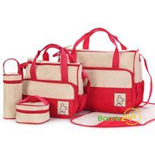 Bộ túi cao cấp 5 trong 1 dành cho mẹ và bé