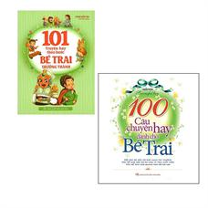 Combo 101 Truyện Hay Theo Bước Bé Trai Trưởng Thành + 100 Câu Chuyện Hay Dành Cho Bé Trai