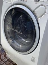 Máy giặt cũ nội địa Nhật TOSHIBA TW-150VC (9kg-lồng ngang