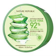 Gel lô hội Soothing & Moisture Aloe Vera 92% Nature Republic 300ml