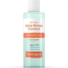 Nước hoa hồng Neutrogena Oil Free Acne Stress Control Triple Action Toner