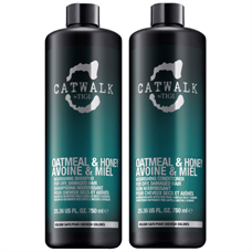 Bộ Dầu Gội Xả Tigi Catwalk Oatmeal & Honey 750ml