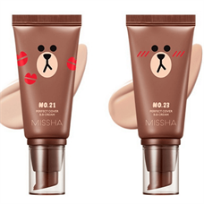 Kem Nền Missha Perfect Cover B.B Cream Line Friends Edition SPF42 PA+++ 50ml