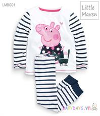 Bộ quần áo thu đông Little Maven LMBG01 ( 24M - 7T )
