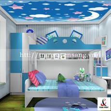Mẫu trần phòng ngủ trẻ em xuyên sáng số 2
