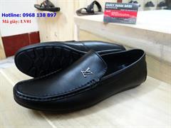 LV01: Giày lười nam LV