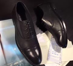 LV02: Giày nam công sở buộc dây Louis Vuitton