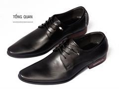 Giày da công sở cao cấp Gucci GC01 kiểu buộc dây
