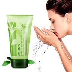 Sữa Rửa Mặt Trà Xanh Innisfree Green Tea Pure Cleansing Foam