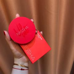 Cushion Missha Velvet Finish [Bản Đỏ]