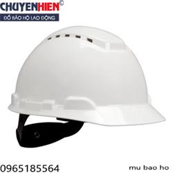 Mũ nhựa bảo hộ lao động có 3 lỗ thoáng khí kiểu Mỹ