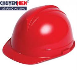 Mũ nhựa bảo hộ Thùy Dương có núm vặn màu đỏ