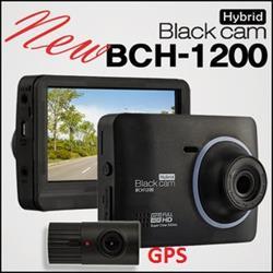 BlackCam Hybrid BCH1200 FullHD, 2CH, 16G (FullHD, 2CH, GPS)