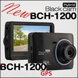 BlackCam Hybrid BCH1200 FullHD 16G (FullHD, GPS, Option kênh sau)