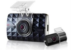 GI-500 - Camera hành trình GNET 2CH/FULLHD+D1/LCD 16GB