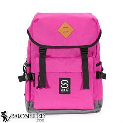 Balo Laptop Sonoz Le Filet Rose0417