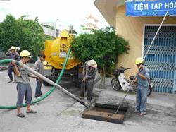 Hút bể phốt tại huyện Giao Thủy