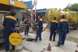 Hút bể phốt tại huyện Kim Bảng