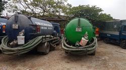 Hút bể phốt tại huyện Kim Sơn