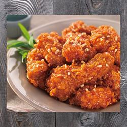 Gà cay ngọt rút xương | Secret boneless chicken
