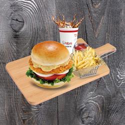 Set Burger Tôm | Shirimp Burger Set