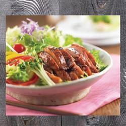 Salad gà hun khói | Smoked Chicken Salad