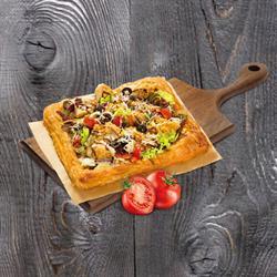 Pizza Salad Pastry Sốt Cajun