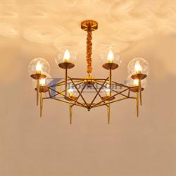 Đèn chùm phòng khách hiện đại LADY009 - Homelight