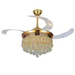 Quạt trần đèn hiện đại HL-Y42-989GU - Homelight Jsc