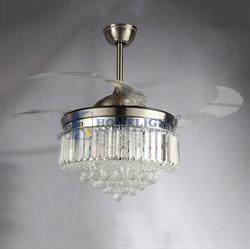 Quạt trần đèn hiện đại HL-Y42-8560BN - Homelight Jsc