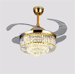 Quạt trần đèn hiện đại HL-Y42-8570GU - Homelight Jsc