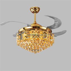 Quạt trần đèn hiện đại HL-Y42-8590GU - Homelight Jsc
