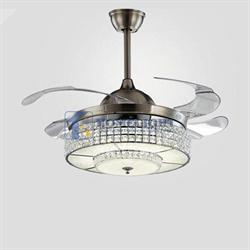 Quạt trần đèn hiện đại HL-Y42-9700BN - Homelight Jsc