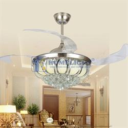 Quạt trần đèn hiện đại HL-Y42-9810GU - Homelight Jsc