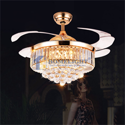 Quạt trần đèn hiện đại HL-Y52-8571GU - Homelight Jsc