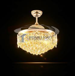 Quạt trần đèn hiện đại HL-Y56-8591GU - Homelight Jsc