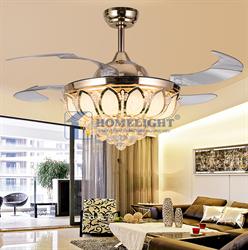 Quạt trần đèn hiện đại HL-Y52-9821GU - Homelight Jsc