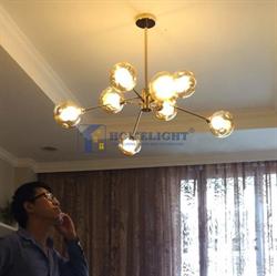 Đèn chùm phòng khách hiện đại LADY013 - Homelight