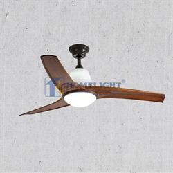 Quạt trần đèn cổ điển HL-T52-3120YE - Homelight Jsc